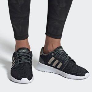 Adidas Women's CLOUDFOAM QT RACER SHOES size 7